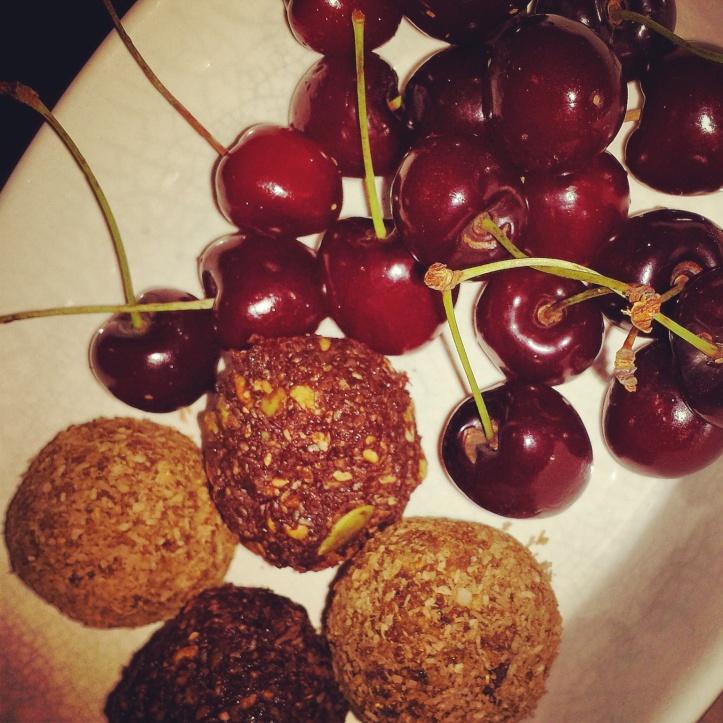 Mini Pudding Bliss Balls