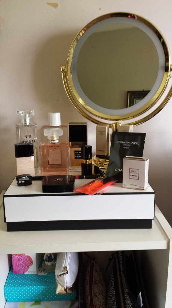 My Chanel makeup splurge