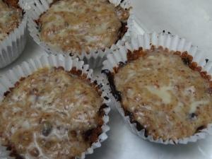 Salted Caramel Tarts - healthy version